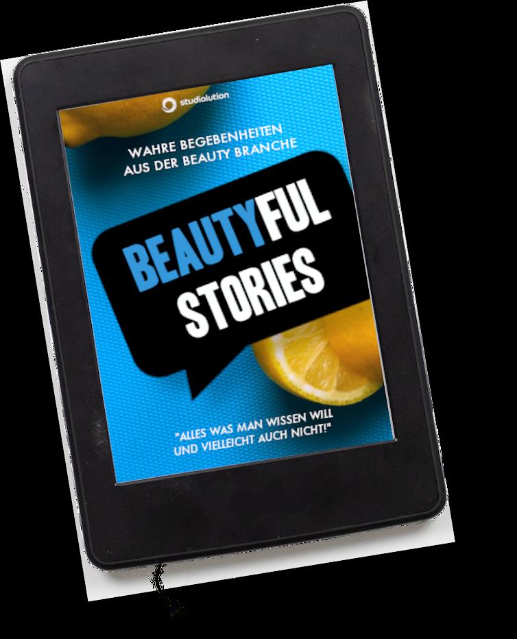 Beautyful Stories soll auch als E-Book veröffentlicht werden.