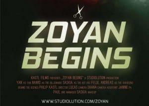 Zoyan Begins - Die Marketing-Aktion von studiolution